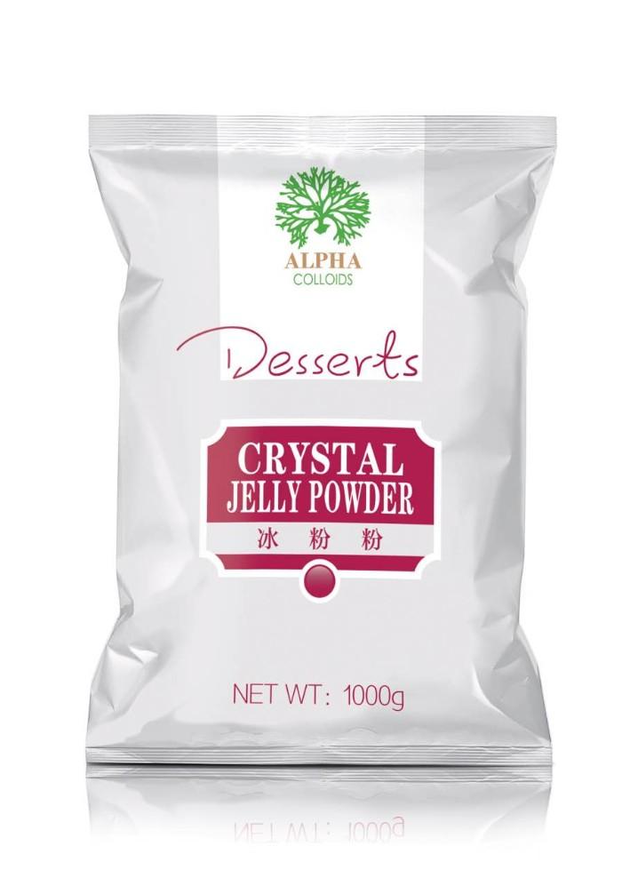 Pre-mixed pudding powder, jelly powder and beverage powder