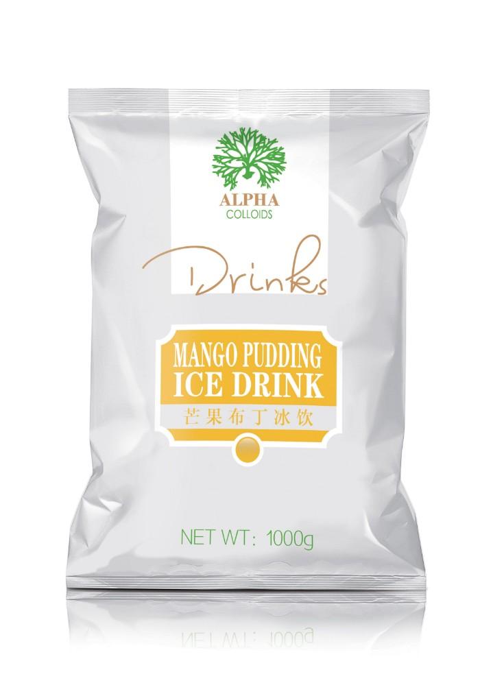 Mango Pudding Ice Drink